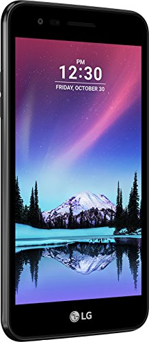 LG electronics LGM160.ADECBK 12,7 cm (5,1 Zoll) K4 (2017) Smartphone (5MP Kamera, 8GB Speicher, Android 6.0) schwarz
