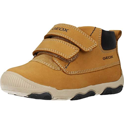 Geox Baby-Jungen B New BALU' Boy C Ankle Boot, Biscuit, 24 EU