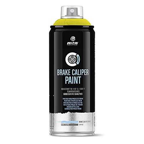 Montana Colors MTN Pro Pintura Pinzas de Freno-Amarillo, Spray 400ml