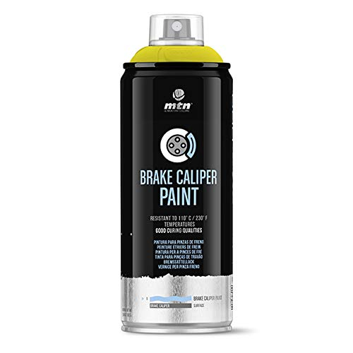 Montana Colors MTN Pro Pintura Pinzas de Freno-Amarillo, Spray 400ml