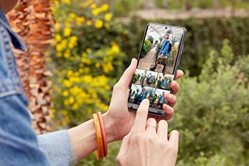 Samsung Galaxy S20 Ultra 5G Smartphone Bundle (17,44 cm) 128 GB interner Speicher, 12 GB RAM, Hybrid SIM, Android, inkl. 36 Monate Herstellergarantie [Exklusiv bei Amazon] Deutsche Version