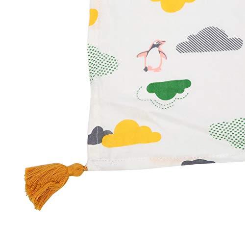 SALALIS 110 x 158 cm, Toalla de baño para bebé, para recién Nacido(Cloud Penguin, 110 * 158cm)