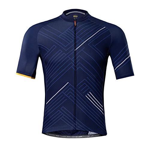 Santic Men's Cycling Jersey Short Sleeve Cycling Tops for Men Biking Jersey Cycling Shirts Breathable
