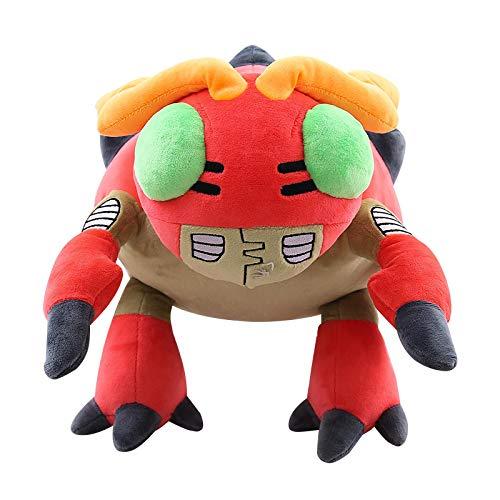 LANZZ DigimonFigurTentomon PlüschpuppeMarienkäfer Kuscheltiere Kinderspielzeug 30Cm