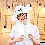 YILE Plush Fun Animal Hats Sea lion Ear Moving Jumping Hat, Funny Toys for Party Cosplay Hat