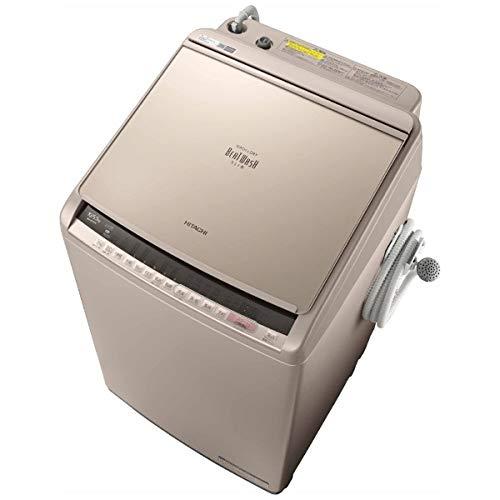 BW-DV100C-N(シャンパン) ビートウォッシュ 縦型洗濯乾燥機 上開き 洗濯10kg/乾燥