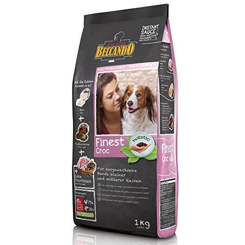 Belcando Finest Croc [1 kg] Hundefutter | Trockenfutter für kleine & mittlere Hunde | Alleinfuttermittel für ausgewachsene Hunde ab 1 Jahr