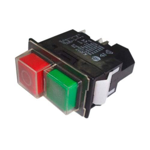 VIRUTEX 3369048 3369048-Interruptor (230V) para Modelos TM y TS, Negro