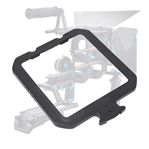 Mugast lens filterhouder, kunststof zwart 4 x 4 inch camera afilterclip eenvoudig te bedienen en te installeren voor zonnescherm Follow Focus