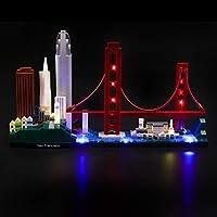 LIGHTAILING Licht-Set Für (Architecture San Francisco) Modell - LED Licht-Set Kompatibel Mit Lego 21043(Modell Nicht Enthalten)