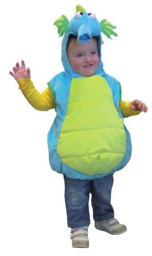 Orlob Seepferdchen Kinder Kostüm Tier zu Karneval Fasching Größe 104