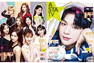 韓国雑誌 ASTA TV+style 2018年 5月号 Vol.119 (Wanna One、TWICE、防弾少年団、SEVENTEEN、EXID、THE BOYZ記事)