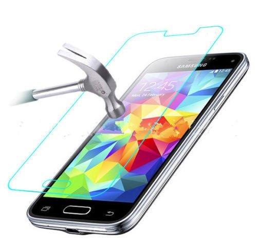 itronik® 9H Hartglas / Panzerglas für Samsung Galaxy S5 Mini SM-G800 / Displayschutzglas / Tempered / Panzer Glas Display Schutz Folie / Schutzglas / Echte Glas / Verbundenglas / Glasfolie