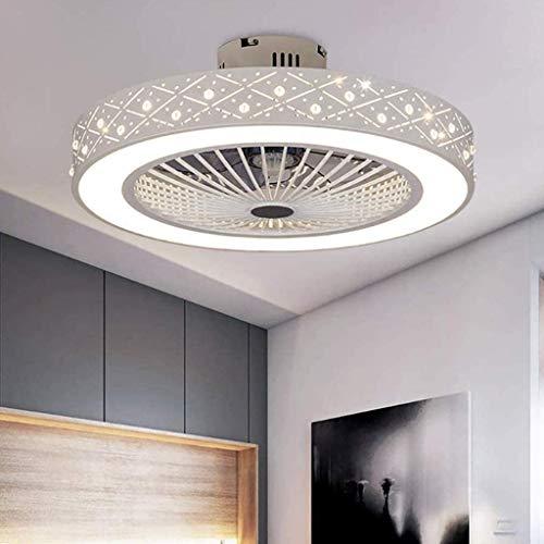 Ventilator Deckenleuchte Mit 36W LED-Beleuchtung Und Fernbedienung Deckenventilator Ultra Leise Lüfter Licht Dimmbare Deckenlampe Kinderzimmer Schlafzimmer Wohnzimmer Innen Deckenbeleuchtung Fan Lampe