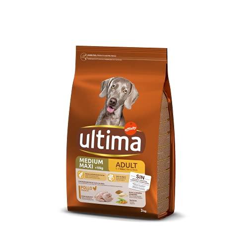 ultima Pienso para Perros Medium-Maxi Adultos con Pollo - 3 kg