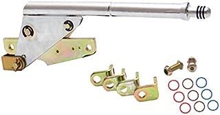 American Shifter 414067 Shifter Kit (4L80E 12 E Brake Cable CHR Push Btn Floor Hndl Ringed Knob For D95A5)