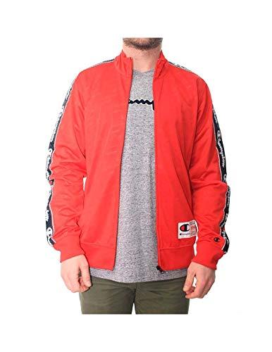 Champion Sweatjacke Zip Allover Red Größe: S Farbe: Red