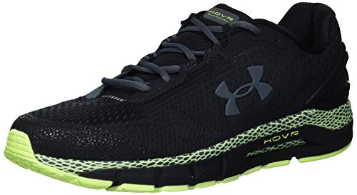 Under Armour Men's HOVR Guardian 2 Running Shoe, Black (001)/X-Ray, 10.5