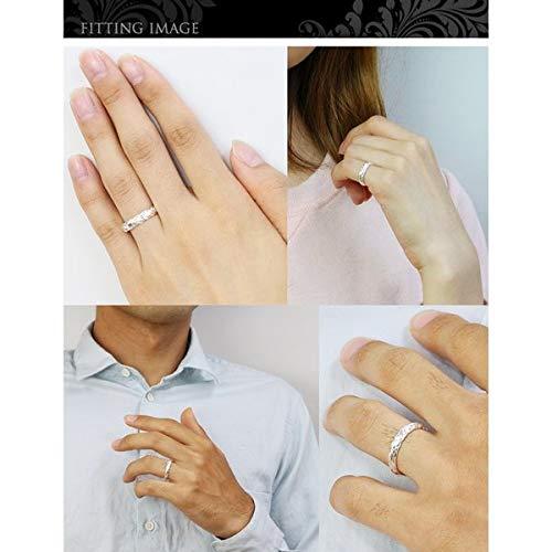 ハワイアンジュエリーペアリング刻印無料誕生石入れ可シルバー925マイレリーフ指輪2個セット【1個目:9号】【2個目:10号】SR401P