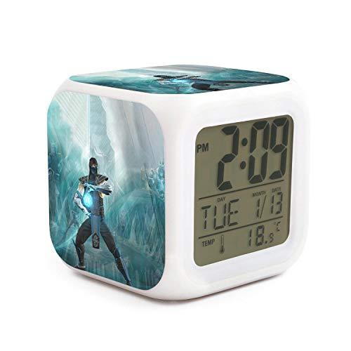 Unicorns Farting Cartoon Characters Alarm Clock Travel Sleep Aid Adjustable Volume Fit Birthday Gifts