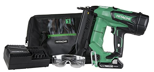 Hitachi NT1850DE 18V Cordless Brad Nailer, Brushless Motor, 18 Gauge, 5/8