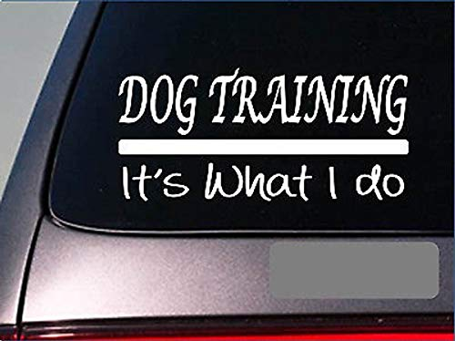 Hondentraining Het is wat ik doe Sticker 8