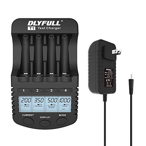 Tester universale per batteria LCD batterie a bottone ecc Dlyfull B3 batterie tensione della batteria controllata resistenza interna e capacit/à della batteria per batteria