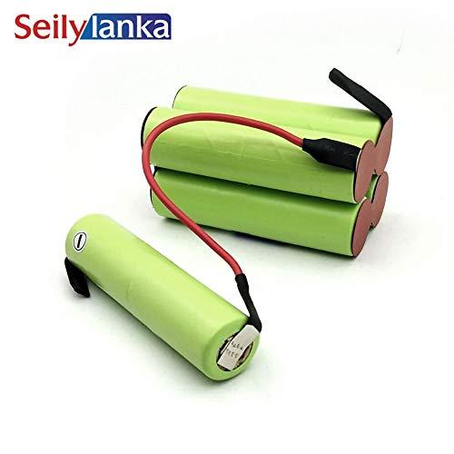 Seilylanka 3000mAh per Black Decker 12 V Ni MH Batteria pacchetto CD aspirapolvere Dustbuster Pivot PV1205B - 12 Volt per auto-installazione
