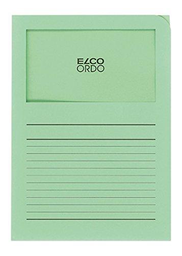 Elco 29489.61 Ordo Organisationsmappe Classico, 220 x 310 mm, 120 g, grün