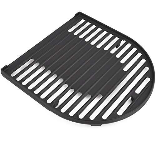 SHINESTAR Cast Iron Grill Grate for Coleman Roadtrip Grills and Swaptop Accessories, Expands The Cooking Range,1 Pack