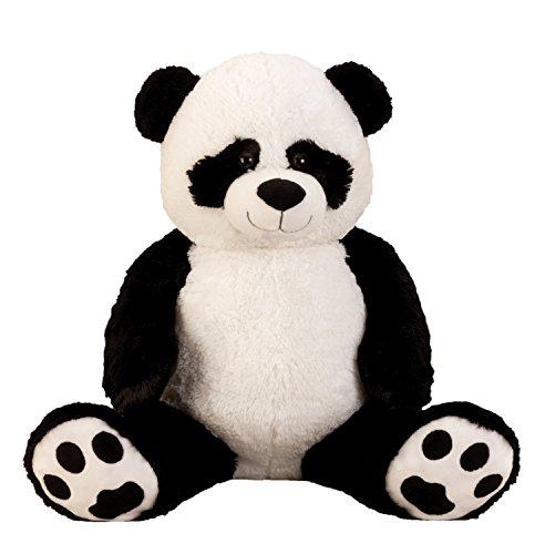 """XXL Panda Bär \"""" Bernd \"""" 1m Teddybär Kuschelbär 100 cm Kuscheltier Stofftier Pandabär Teddy"""