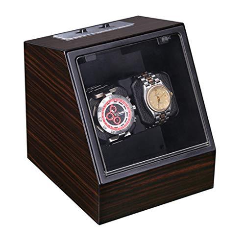 Tägliche Dekorationen Automatischer Uhrenbeweger Automatischer rotierender Uhrenbeweger Klarglasabdeckung Einzigartiges Design Langlebige Haltbarkeit Zwei Stromversorgungsmethoden Uhrenbewegerbox