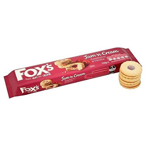 Fox Confiture 'Anneaux N Crème 150G - Paquet de 6
