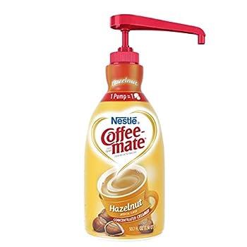 Coffee Mate Coffee Creamer Hazelnut 1.5L liquid pump bottle Pack of 1