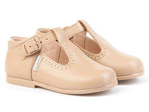 Pepitos de niño de Piel. Marca AngelitoS. Modelo 503. Calzado Infantil Hecho en España