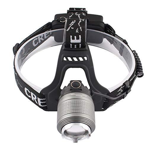 Linterna frontal LED de 1200 lm, faro para exterior, camping, pesca, resistente al agua
