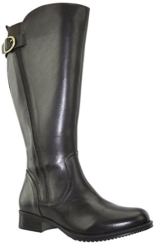 JJ Footwear Women's Kempten XL 40.4 cm - 48.1 cm Espresso Denver Leather Boot