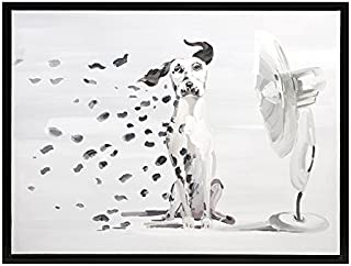 IMAX 82136 Pongo Spots Oil Painting - Handcrafted Canvas, Wall Decor Accessory, Landscape Painting. Home Decor Accents