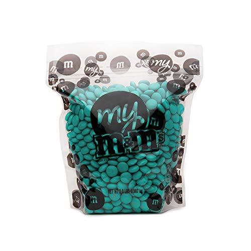 M&M's Aqua 2 Lb Bulk Candy