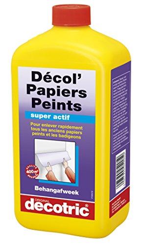 Decotric 005205083 Detergente per carta da parati, 1 l, incolore 00, 1 litro