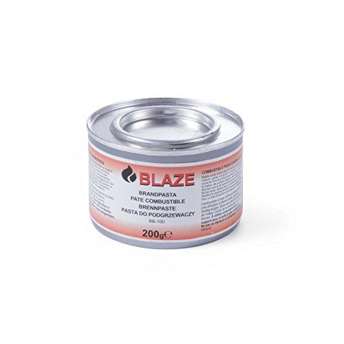 Hendi 193327 Pâte combustible Blaze - pack de 12