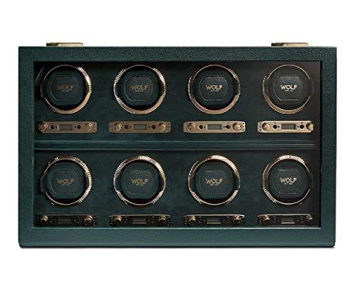 Wolf 792541 British Racing Green Remontoir automatique pour montre 8 pièces Vert