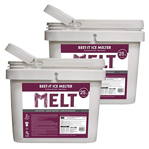 Great Features Of Snow Joe Beet It Snow and Ice Melter w CMA & Beet Extract 25 Lbs Bucket (2 Pack)