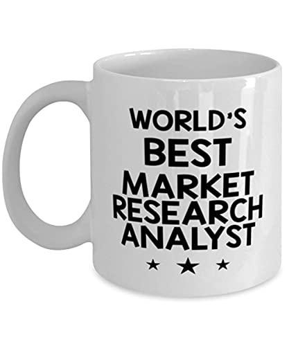 N\A arket Reaserch Analyst Funny Coffee Mug S Ideas for Birthday or Christmas. Miglior Analista di Ricerca di Mercato al Mondo