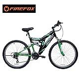 Firefox Bikes Dart 2.6, 21 Speed Mountain Bike (Green/Black)