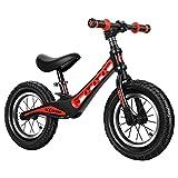 Bicicleta de Equilibrio para Niños, Bicicleta para Niños 2 Años - 6 Años, Bicicleta para Niños sin Pedales con M de Acero, Silla de Montar Ajustable de Altura/B