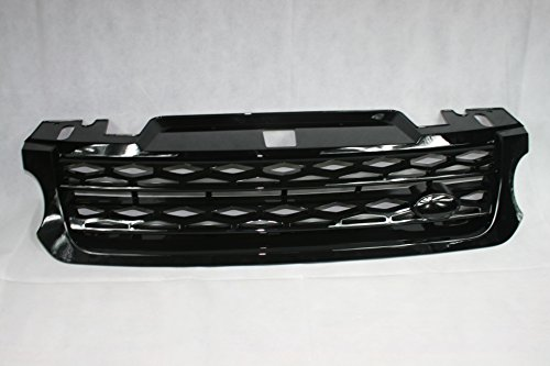 Zunsport Compatible con Range Rover Sport (L494) Parrilla Totalmente Negra Brillante (2014-2018)