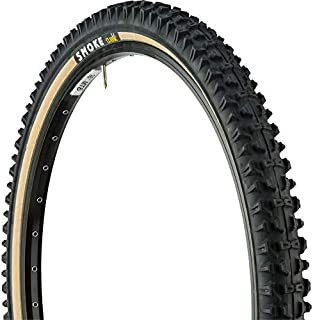 Smoke MTB 26 x 2.10 inch Tubed Folding Bead Tire, Rear, Black/Amber
