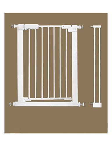 Child Safety gate bar huisdier Deur bar Hond Hek Binnen Anti-Hond Isolatie Railing Veiligheid Hek Teddy Grote Kleine Hond Hek B: 71-76.9cm (27.9-30.3in)
