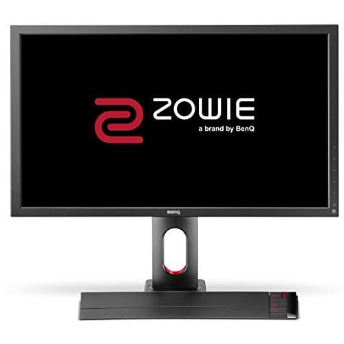 "BenQ ZOWIE XL2720 e-Sports Gaming Monitor con 1 ms, 27"", 144 Hz, Regolabile in Altezza, S Switch, FHD, DP, Nero eQualizer, Dark Grey"